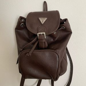 Vintage Guess mini backpack